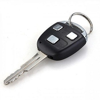 Catterpillar Fake Car Remote Control Shock Keychain with Laser and LED Light (Car Key) - saysurprise