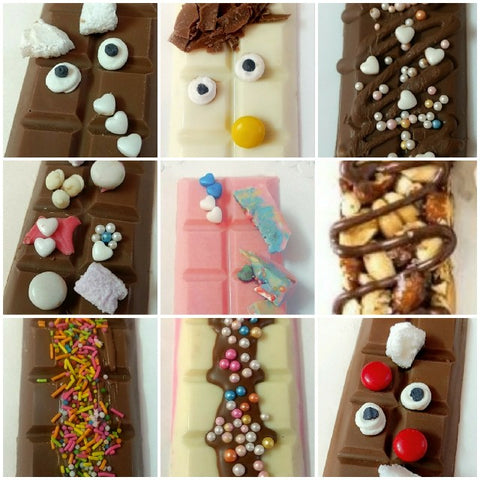 Customized chocolate bar - saysurprise