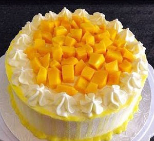 Ultimate Mango fruit drip cake 1 kg