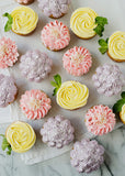 Cupcake bouquet pastel - box of 7 - saysurprise