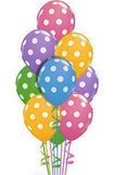 Polka Dots 100 Balloon Bouquet - saysurprise