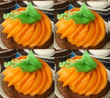 Simple Halloween 6 cupcakes - saysurprise