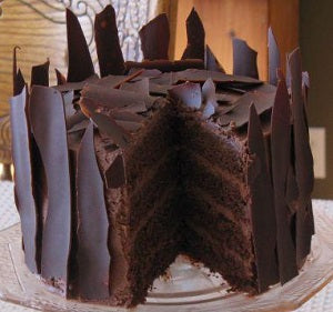 Sugar free chocolate shard cake 1/2 kg - saysurprise