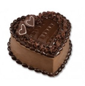 Sugar free heart chocolate cake 1 kg - saysurprise