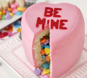 Heart conversation secret cake 250 grams - saysurprise