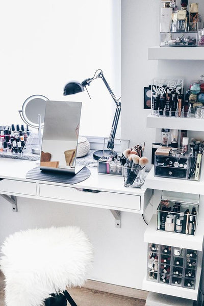 How to organize your make up like a make up Junkie