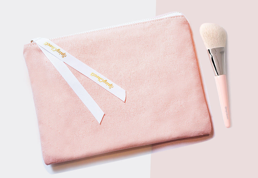 Spring Gift! (makeup bag + #7 Contourina Brush)