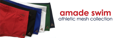New Amade Swim Athletic Mesh