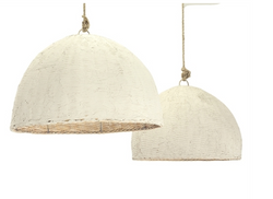 Clay Dome Pendant Light -Large