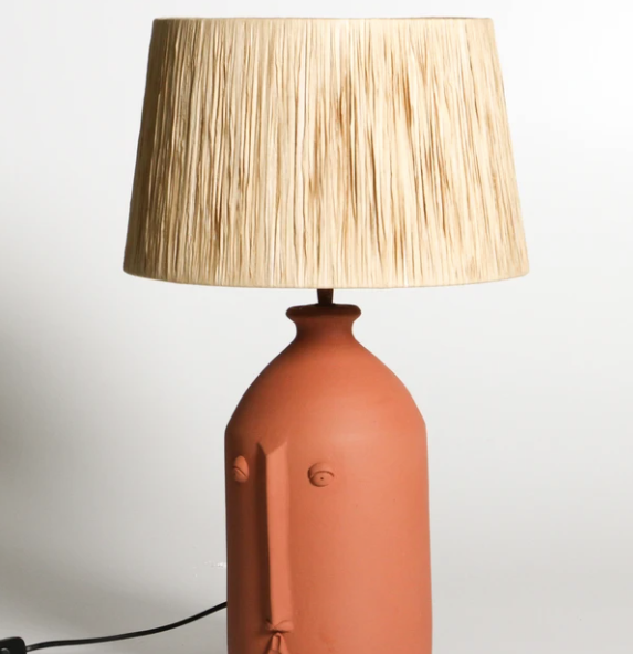 Salvador Table Lamp -Terracotta