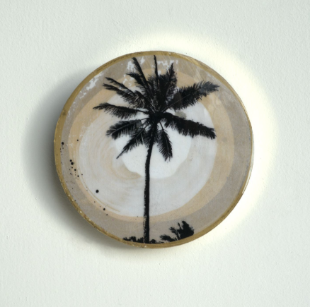 Ahoy Trader Jai Vasicek Single Palm Mini Brass Porthole