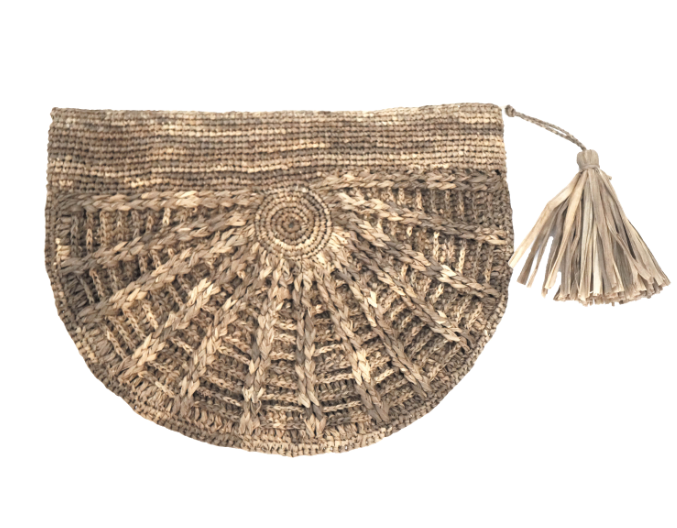 Made In Mada Flore Clutch - Tea  BACK SOON ON REORDER