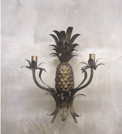Gypset Cargo Miami Shores Pineapple wall Sconce