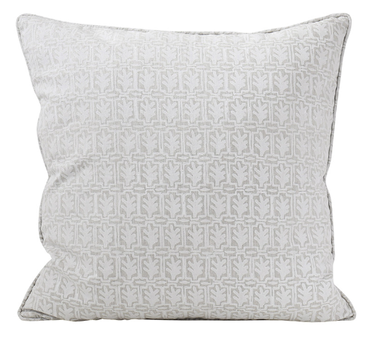 Walter G Cassis Chalk Linen Cushion