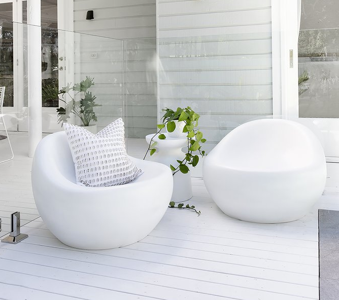 Uniqwa Santorini Resin Outdoor Chair