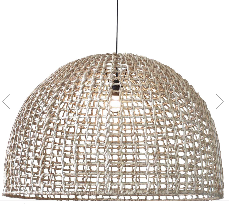 uniqwa lolesa pendant lights byron bay rattan