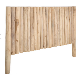 Takke Teak Bed head - King Size