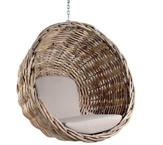 Uniqwa Zulu Hanging Chair Natural