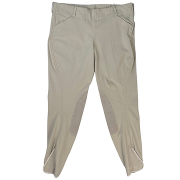 Front of Romfh Breeches in Tan