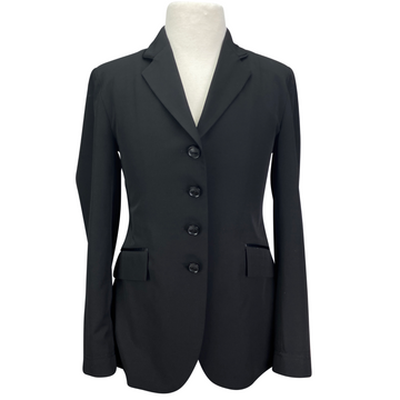 Grand Prix Techlite Show Coat in Black - Children's 14 Tall/Slim