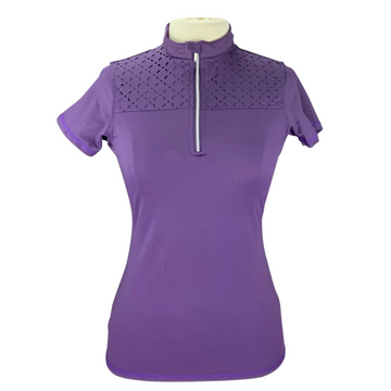 Montar Laser T-Shirt in Patsy Plum