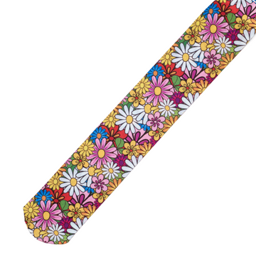Ovation Zocks Boot Socks in Colorful Daisies - Adult One Size