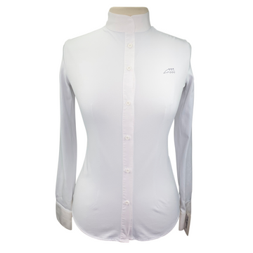 Equiline Victoria Show Shirt in White