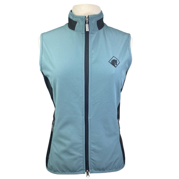 Arista Vest in French Blue/Black - Women's Medium