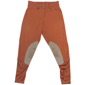 Ovation Celebrity Euroweave DX Breeches in Rust