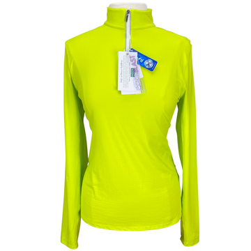 Dover Saddlery CoolBlast Sunshirt in Lime Punch - Women's Large