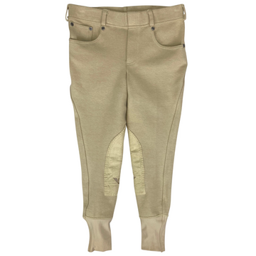 Tuff Rider Starter Pull On Breeches in Tan