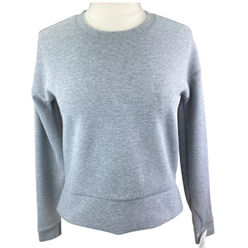 Athleta Modern Sweatshirt in Grey - Women's XXS