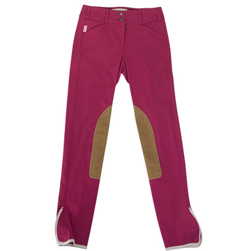 Tailored Sportsman Trophy Hunter Breeches in Claret