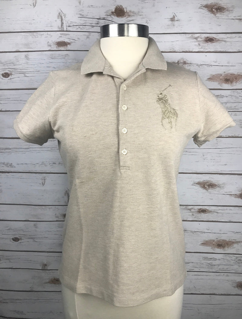 Ralph Lauren Polo in Oatmeal - Women's Large