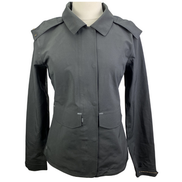 Noble Outfitters Cheval Waterproof Jacket in Black.
