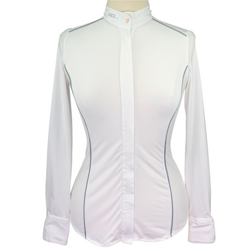 AA Platinum Ella Competition Shirt in White