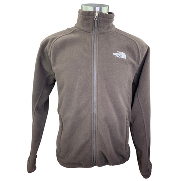 The North Face Fleece Zip Jacket in Brown