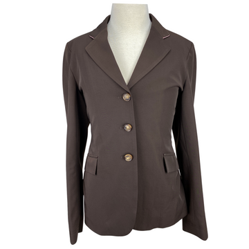 Front of Grand Prix Techlite Show Coat in Brown