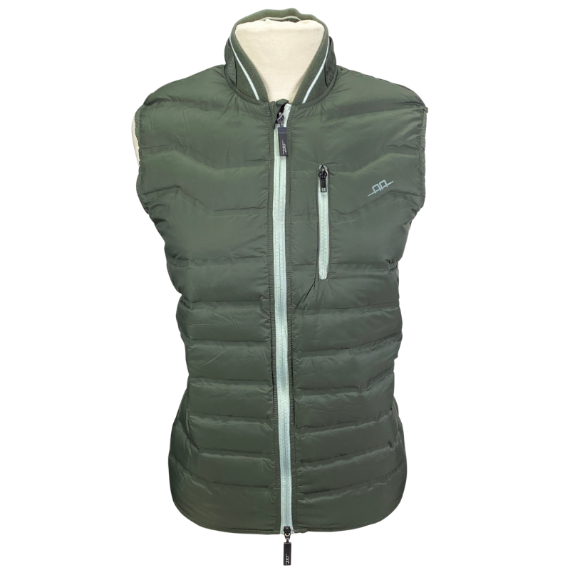 AA Platinum Livorno Padded Vest in Army Green - Men's Medium