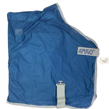 Horseware Amigo Net Cooler in Navy/Silver