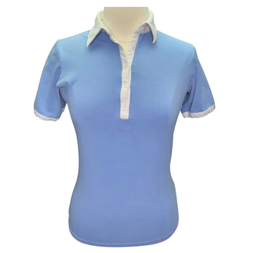 Goode Rider Short Sleeve Shirt in Light Blue