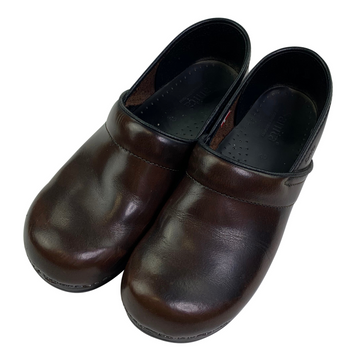 Top view of Sanita The Original Danish Clogs in Brown