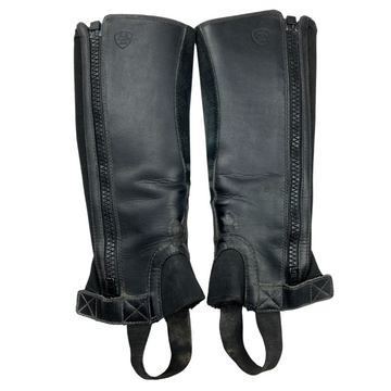 Outside of Ariat Scout Half Chaps in Black