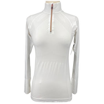 Anique Signature Sun Shirt in Pure White