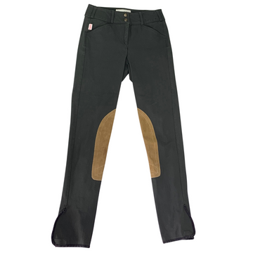Tailored Sportsman Trophy Hunter Breeches in Black Olive