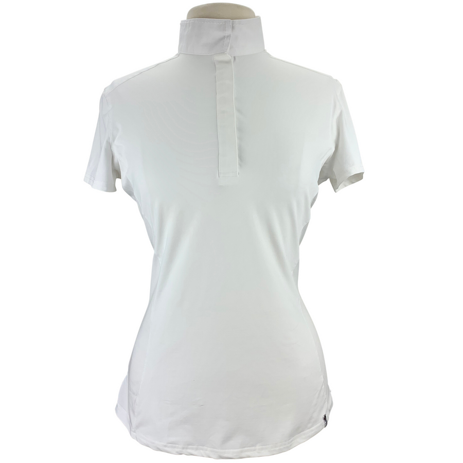 Tredstep Symphony Short Sleeve Show Shirt in White