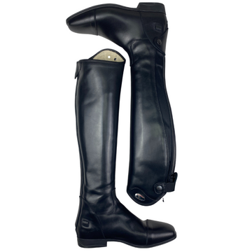 Parlanti Denver Classic Dress Boots in Black - Women's 37 MH (US 7 Med/Tall)