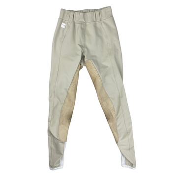 Front of FITS PerforMAX Full Seat All Season Breeches in Tan.