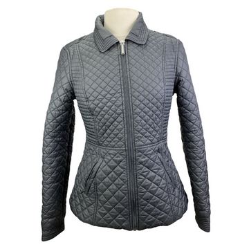 Asmar Equestrian Quilted Jacket in Black.