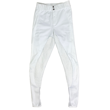 FITS PerforMAX Full Seat All Season Breeches in White